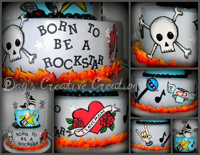 Born to be a RockStar Baby!