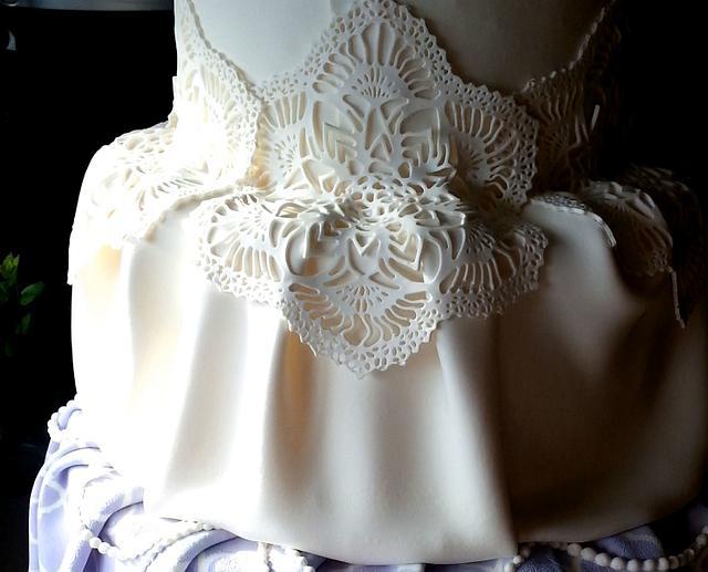 Edible Fabric Cake