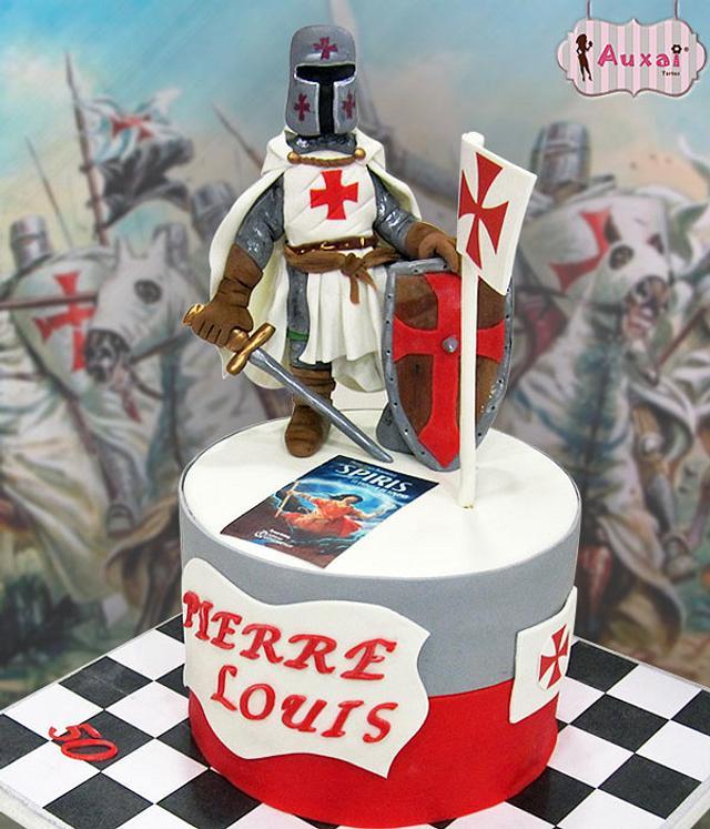 Tarta Caballero Templario