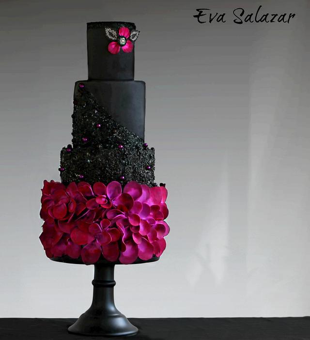 Black Violet Cake to end 2016