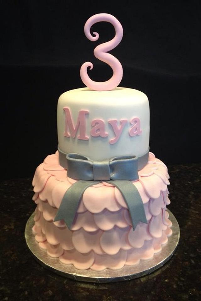 Princess Dress Birthday Cake