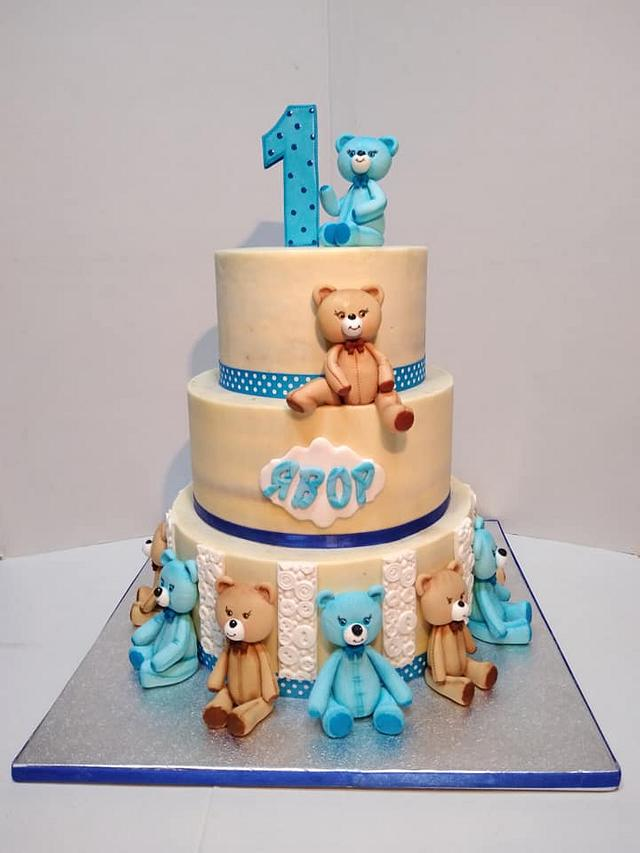 The Cake with the Bears
