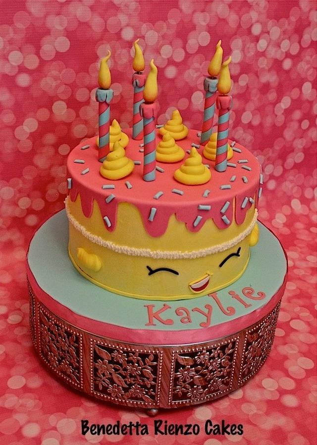 Shopkins Wishes Birthday Cake