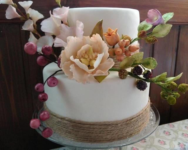 Rustic & country cake..
