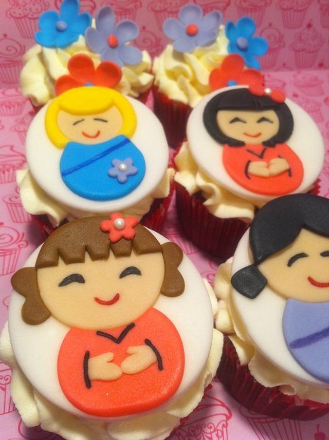 Harajuku Girl Cupcakes