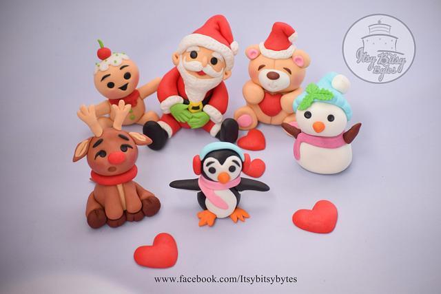 Christmas Cake Toppers