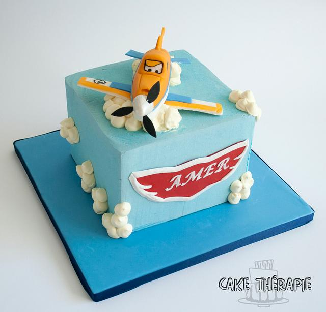 Dusty from the movie Planes. Planes movie cake