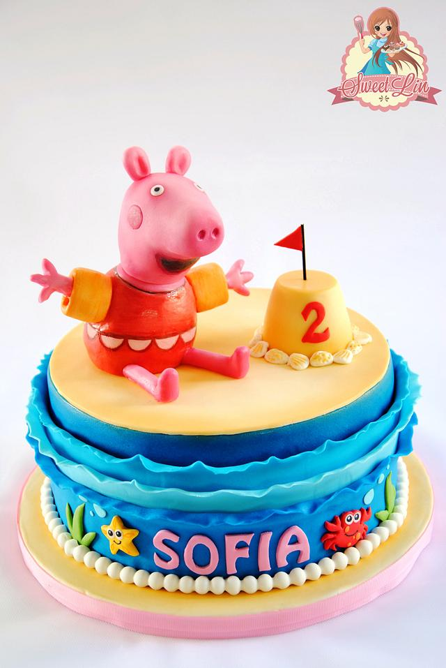 Peppa Pig at The Seaside