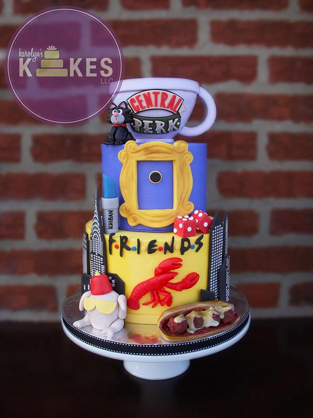 FRIENDS TV Show KAKE!