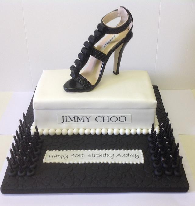 Designer Jimmy Shoe Cake