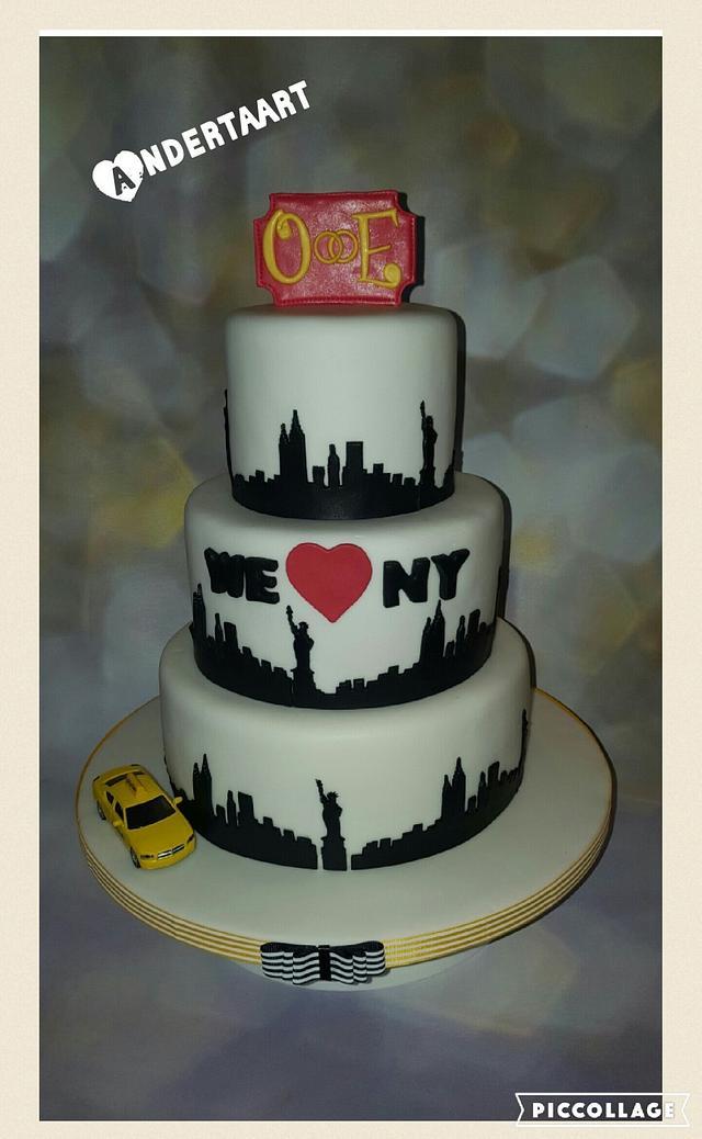 NY wedding cake