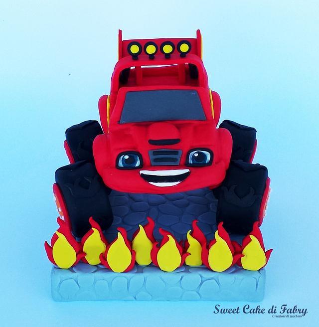 Blaze the monster machine