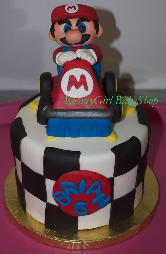 Super MarioKart Birthday Cake 2