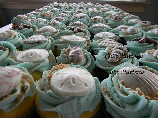 Beachy Cupcakes