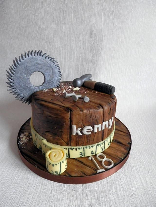 Woodwork Cake