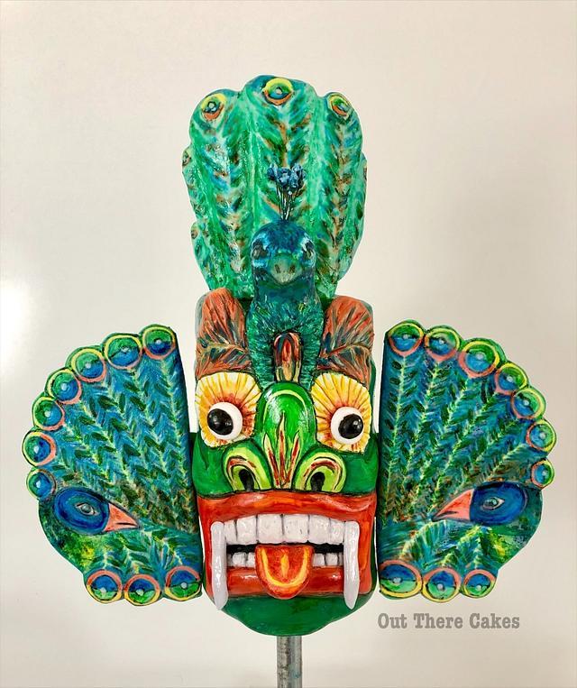 Beautiful Sri Lanka mask