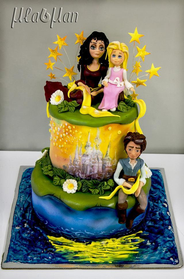 Little Tangled Cake