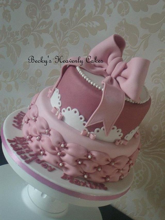 2 tier mini cake