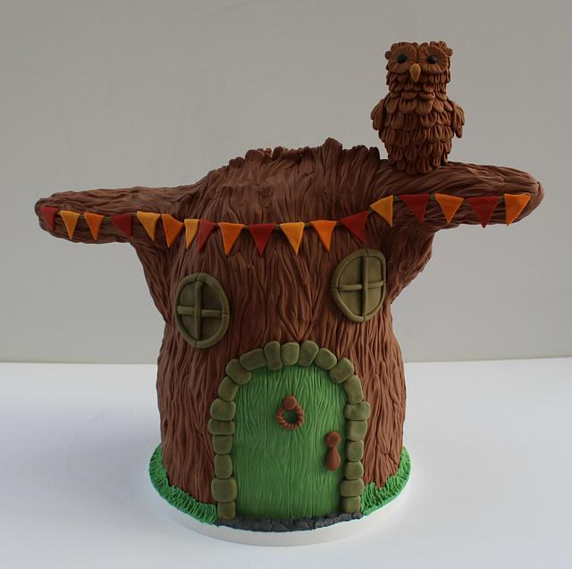 Cake Frame Tree for Fairytale Forest