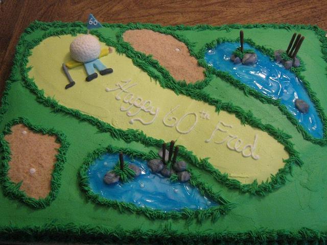 60th b-day golf theme