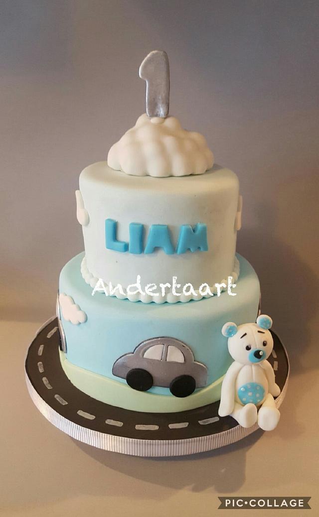 Cute car's cake
