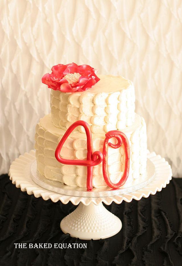 4oth Birthday Cake