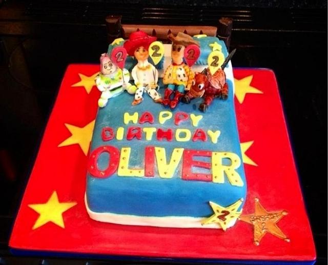 Prime Toy Story Birthday Cake Cake By Tanya Morris Cakesdecor Funny Birthday Cards Online Overcheapnameinfo