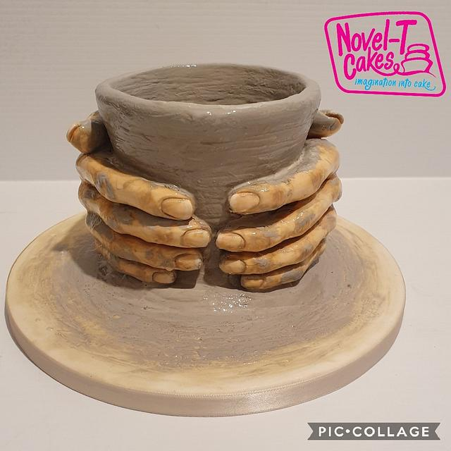 Pottery cake  for Art of Pottery collaboration