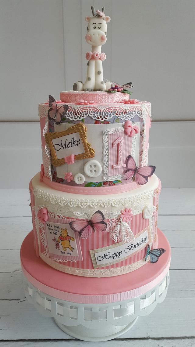 Awe Inspiring Sweet Birthday Cake Cake By Yvonne Cakesdecor Personalised Birthday Cards Xaembasilily Jamesorg