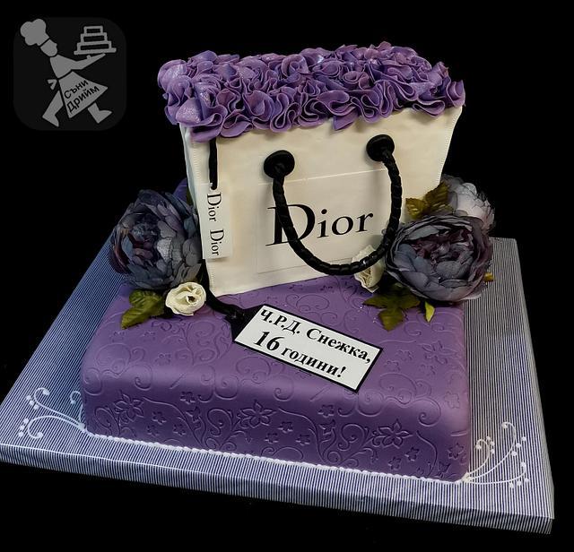 Cake Dior bag