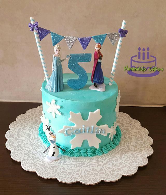 Simple little Frozen cake
