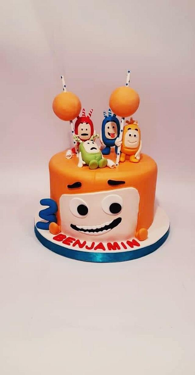 B cake