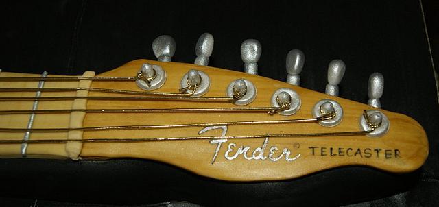 Fender Telecaster Guitar Cake