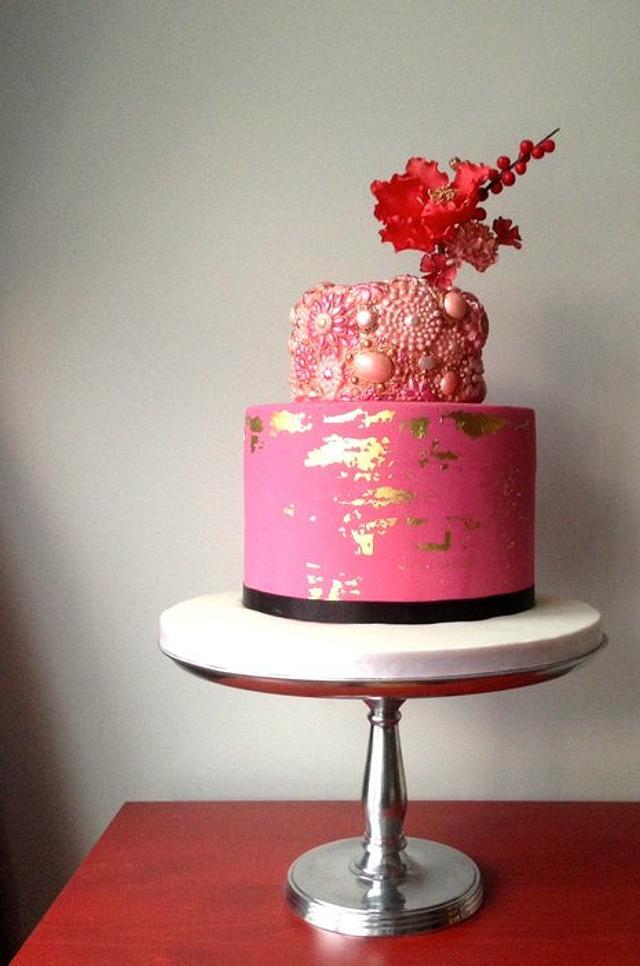 Super Jewel Birthday Cake Cake By Artful Bakery Cakesdecor Funny Birthday Cards Online Unhofree Goldxyz