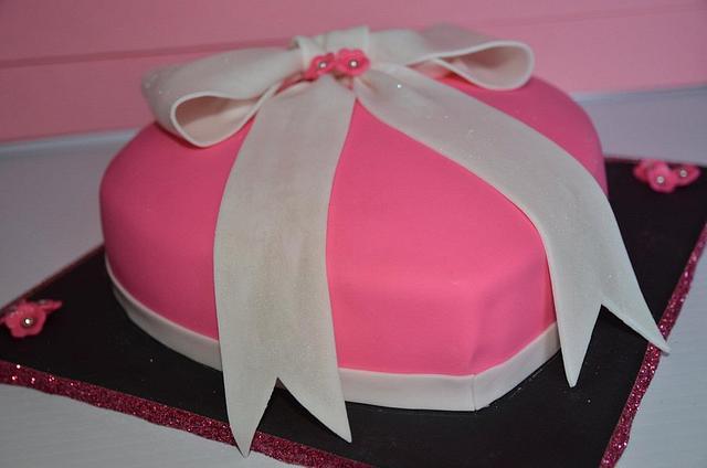 Valentine's Day Birthday Cake