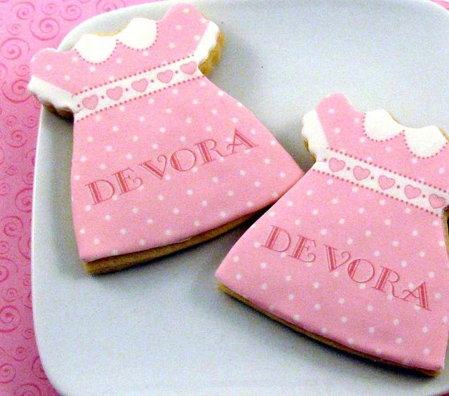 Party Dress Cookie