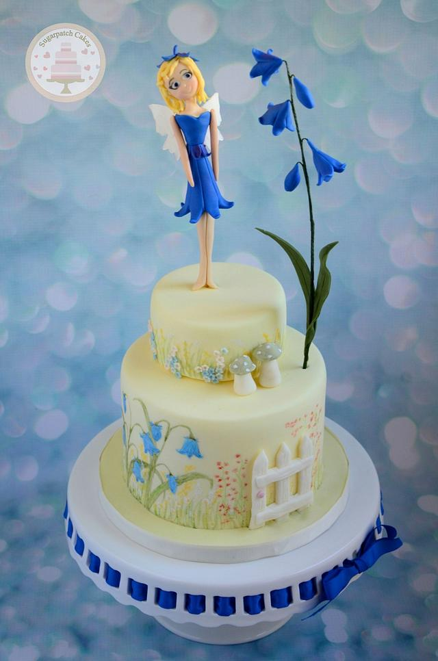 Astonishing Bluebell Cake By Sugarpatch Cakes Cakesdecor Funny Birthday Cards Online Alyptdamsfinfo