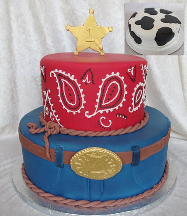 Miraculous Cowboy Birthday Cake Cake By Rock Candy Cakes Cakesdecor Funny Birthday Cards Online Necthendildamsfinfo