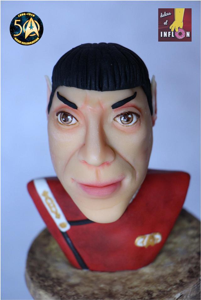 Spock set of elements -  Star Trek 50 - Cake Celebration