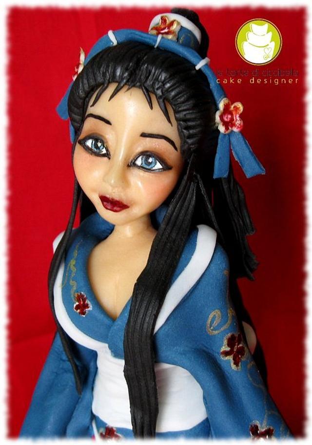 Memory of Geisha inspired
