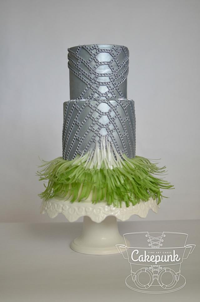Atelier Vercace Inspired Cake Couture Cakers