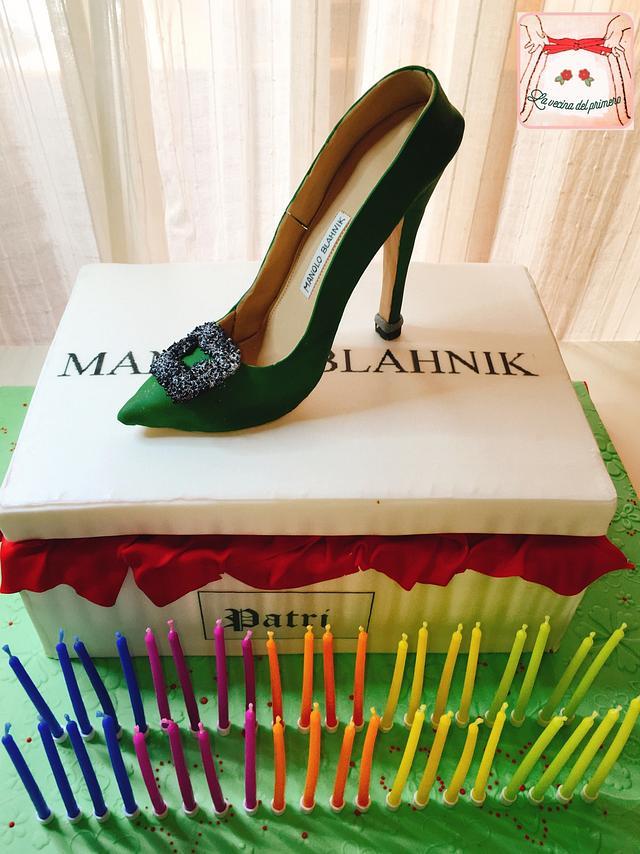 Manolo Blahnik Cake