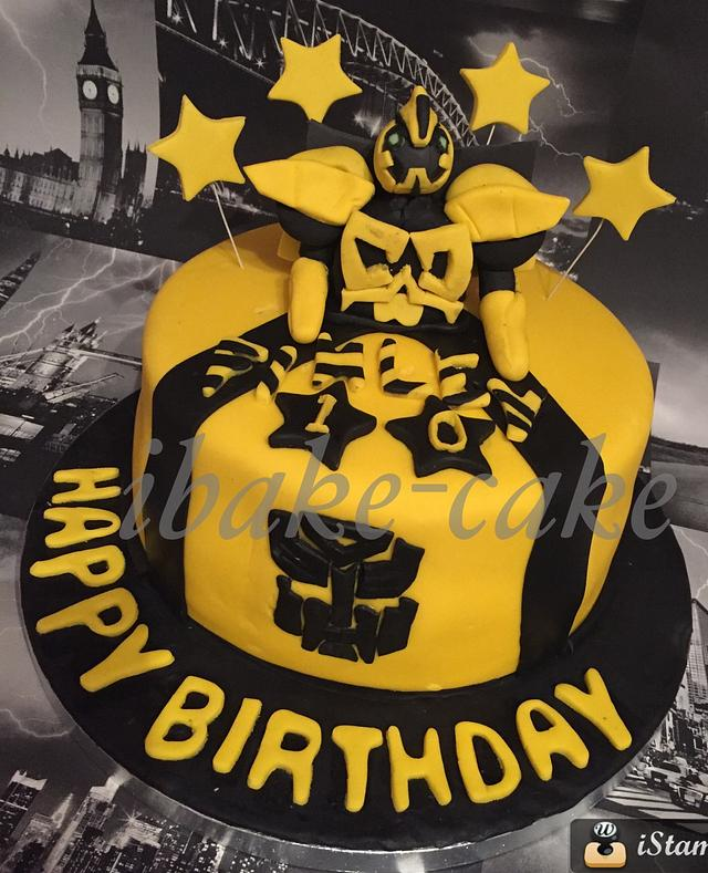 Marvelous Bumble Bee Birthday Cake Cake By Ibake Cake Cakesdecor Personalised Birthday Cards Paralily Jamesorg