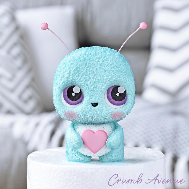 Cute Little Bug Cake Topper