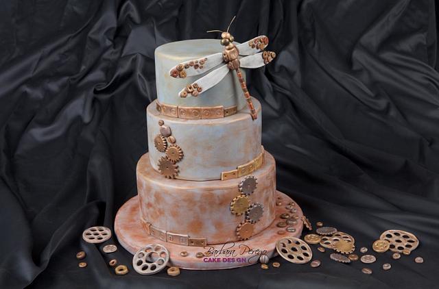Steam punk cake... the first