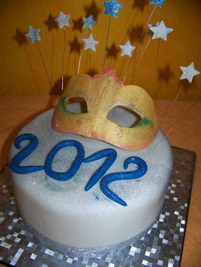 New Years Eve 2012 Cake
