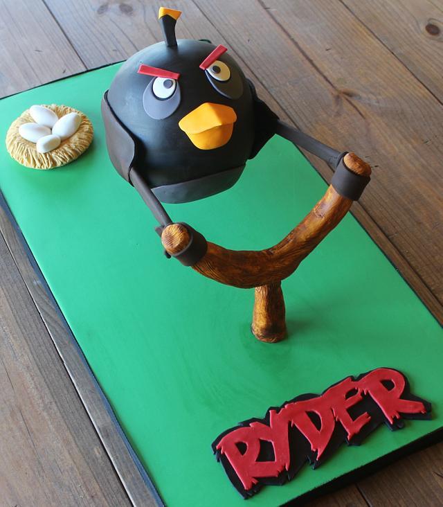 ~Angry Bird Cake~