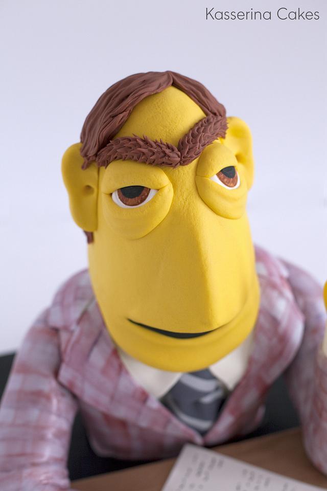 Muppet TV Newsman
