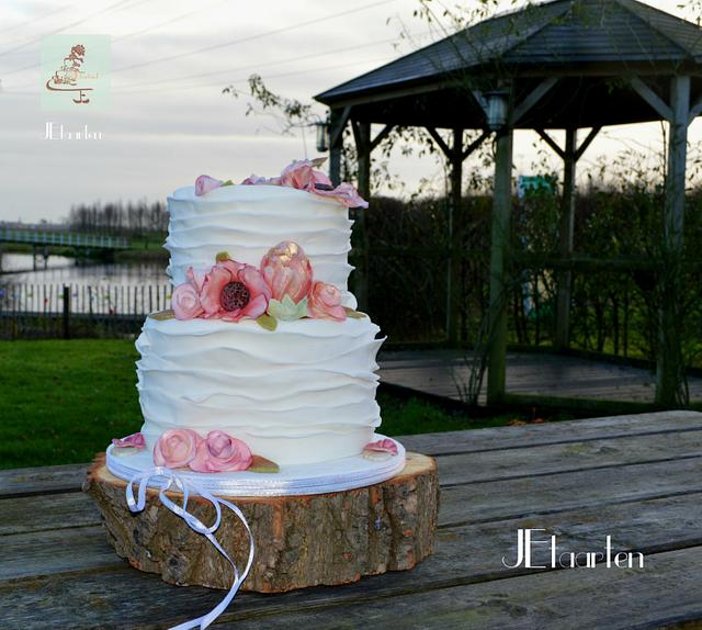 winterwedding cake