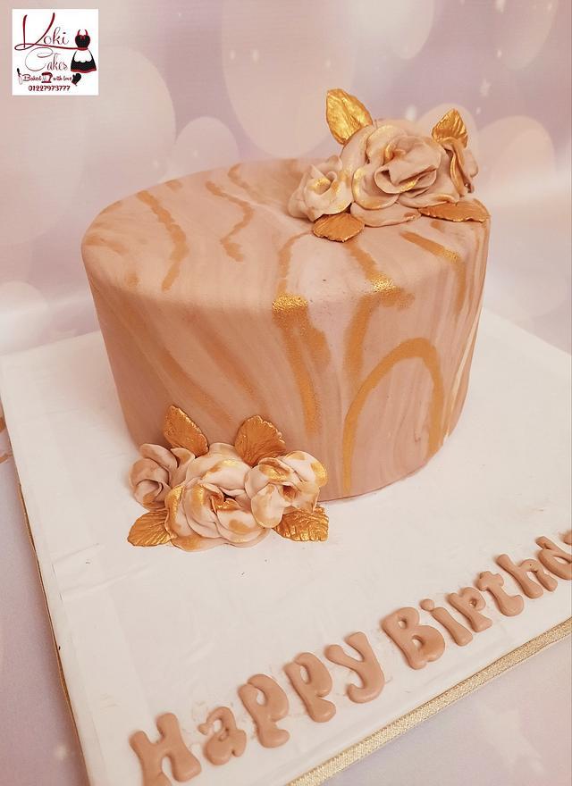"""Marbel cake"""